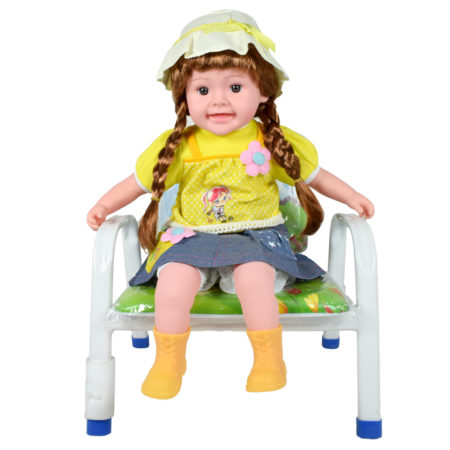 Multicolor Musical Doll - Yellow-0