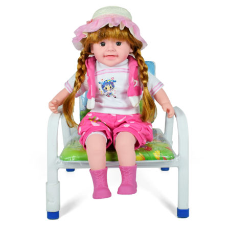Multicolor Musical Doll - Pink-0