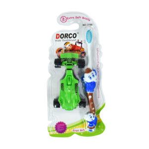 Dorco Extra Soft Bristle Kids Toothbrush - Blue-0