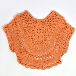 Shrug For Little Girls - Peach-0