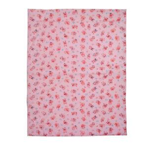 Multi Print Plastic Sheet (L) 59x85cm - Pink-0