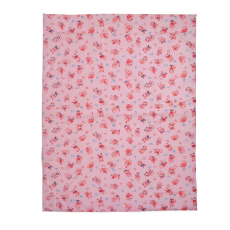 Multi Print Plastic Sheet (S) 44x59cm - Pink-0