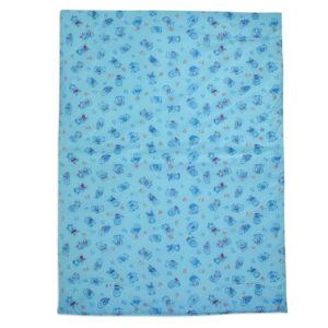 Multi Print Plastic Sheet (L) 59x85cm - Blue-0
