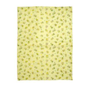 Multi Print Plastic Sheet (L) 59x85cm - Yellow-0