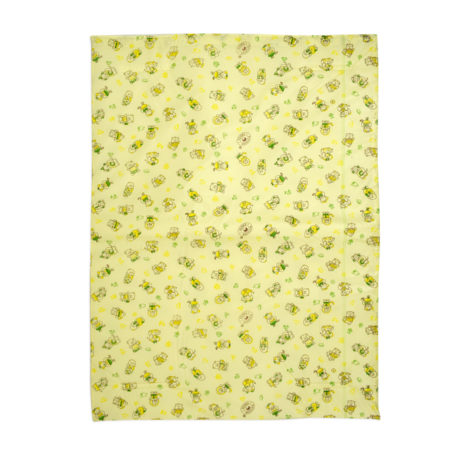 Multi Print Plastic Sheet (L) 44x59cm - Yellow-0