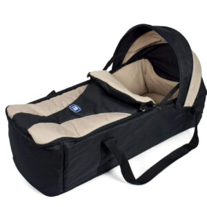Mothercare Carry Cot - Black & Brown-0