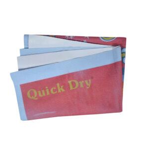 Quick Dry Printed Waterproof Bed Protector Sheet - Mehroon - Medium-0