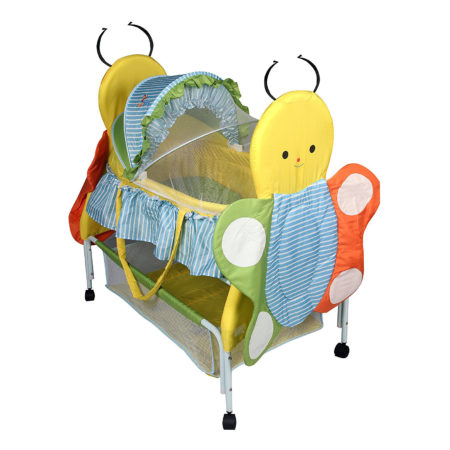 Sunbaby SB-233 Baby Bassinet - Multicolor-0