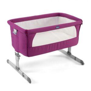 Chicco Next2me Side Sleeping Crib - fuchsia pink-0