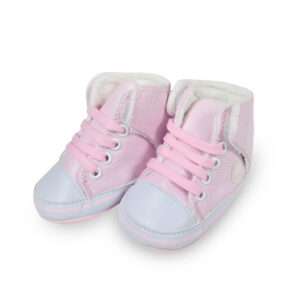 Baby Girl Soft Shoes/Booties - Pink-0