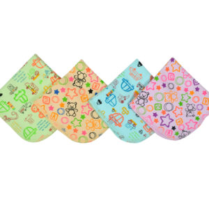 Multi Color Wash Clothes Pack of 4-0
