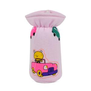 Multi Print Feeding Bottle Cover 120ml - Pink-0