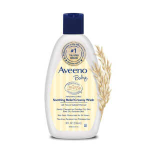 Aveeno Baby Soothing Relief Creamy Wash - 236ml-0