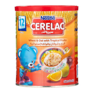 Nestle Cerelac Infant Cereal Wheat & Oat with Tropical Fruits - 400g-0