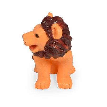 Soft Squeeze Choo Choo Toy (Lion) - 7 Inch-0