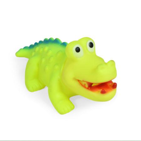 Soft Squeeze Choo Choo Toy (Green) - 10 Inch-0