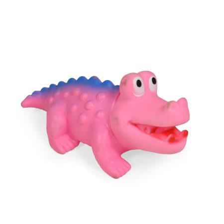 Soft Squeeze Choo Choo Toy (Pink) - 10 Inch-0
