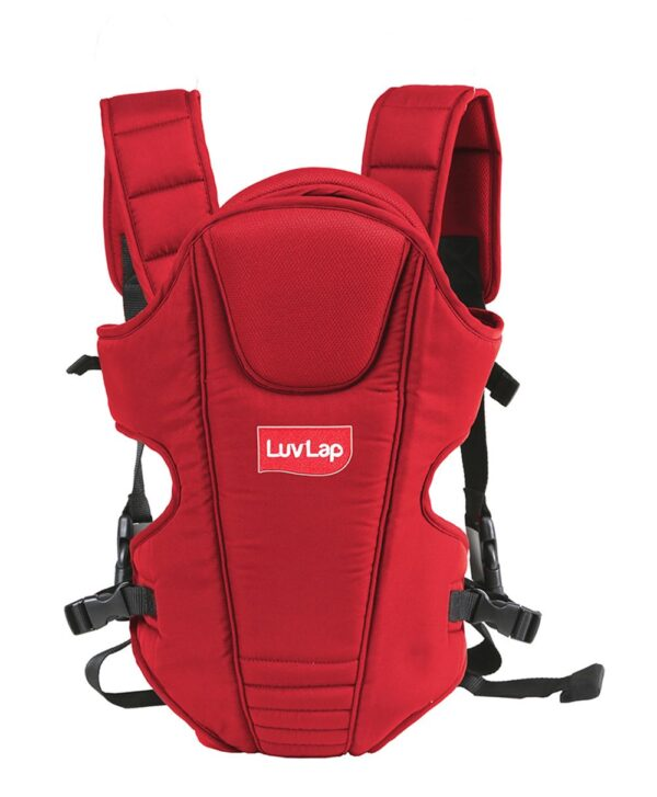 LuvLap 3 Way Baby Carrier Galaxy (18202) - Red-0