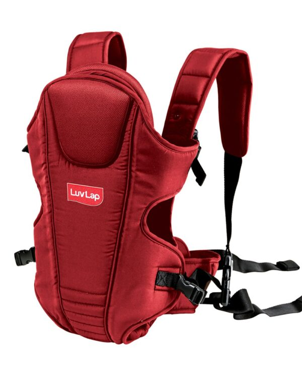 LuvLap 3 Way Baby Carrier Galaxy (18202) - Red-14556