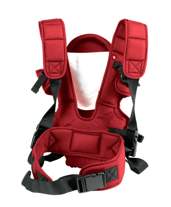 LuvLap 3 Way Baby Carrier Galaxy (18202) - Red-14554