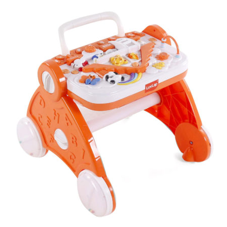 LuvLap Baby Musical Activity Walker (18345) - Orange-0
