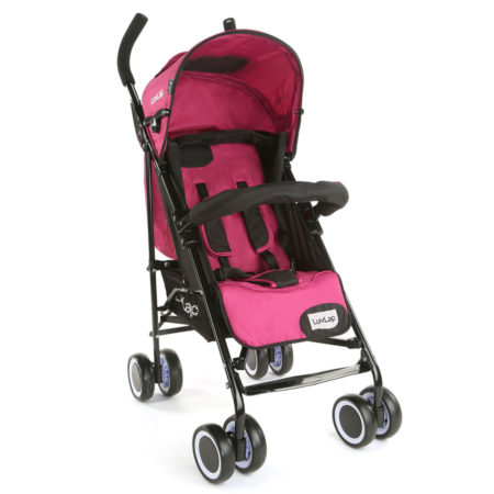 LuvLap City Baby Stroller Buggy (18279) - Pink-0