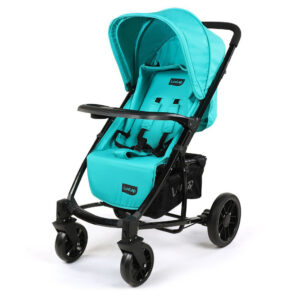 LuvLap Elite Baby Pram Stroller 18354 - Sea Green-0