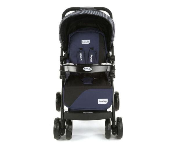 LuvLap Galaxy Baby Stroller (18257) - Black/Blue-15074