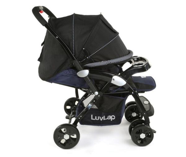 LuvLap Galaxy Baby Stroller (18257) - Black/Blue-15073