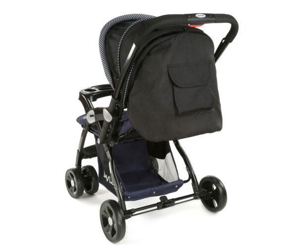 LuvLap Galaxy Baby Stroller (18257) - Black/Blue-15071