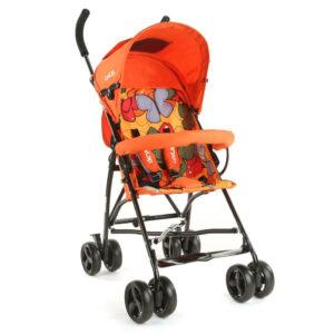 LuvLap Tutti Frutti Baby Stroller Buggy 18274 - Orange-0