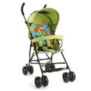 LuvLap Tutti Frutti Baby Stroller Buggy 18275 - Green-0