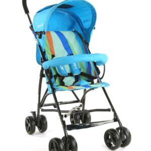 LuvLap Tutti Frutti Baby Stroller Buggy 18272 - Light Blue-0