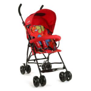 LuvLap Tutti Frutti Baby Stroller Buggy 18273 - Red-0