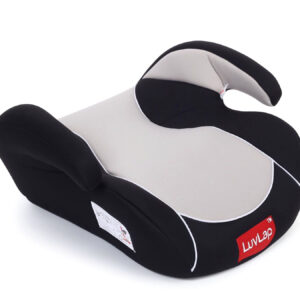 LuvLap Backless Booster Baby Car Seat - Grey-0