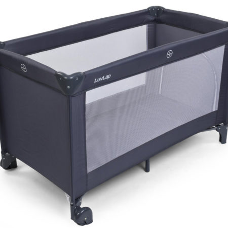 LuvLap Baby Playpen Sunshine 18359 - Grey-0