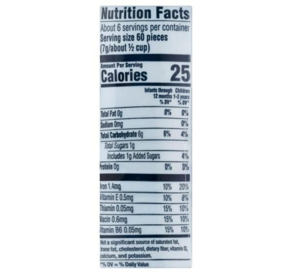 Gerber Puffs Cereal Snack Vanilla (8M+) - 42 gm NON GMO-25544