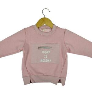 Full Sleeve Infant Sweat Shirt - Pink-0