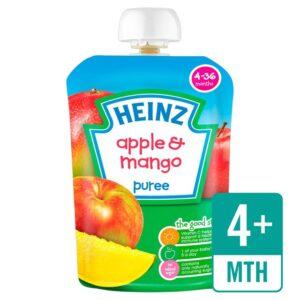 Heinz Apple & Mango Puree (4-36m) - 100G-0