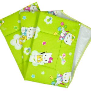 Babys World Changing Sheets Set Of 3 - Green-0