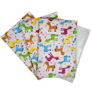 Babys World Changing Sheets Set Of 3 - Pink-0