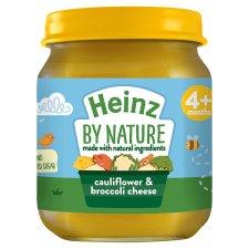 Heinz Ready To Eat Cauliflower Broccoli Cheese Jar (4M+) 120 g -0