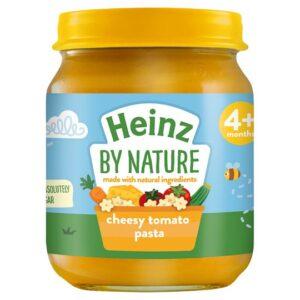 Heinz Ready To Eat Cheesy Tomato Pasta (120gm) - 4M+-0