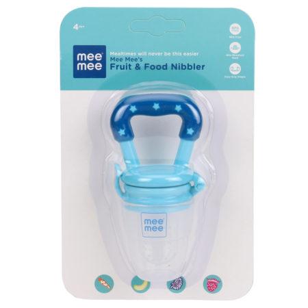 Mee Mee Fruit And Food Nibbler - Blue-0