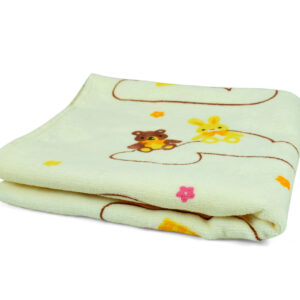 Baby Cotton Towel - Cream-0