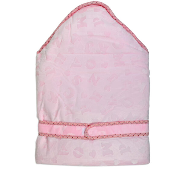 Baby Quilted Wrapper (Knot Style) - Pink-16860
