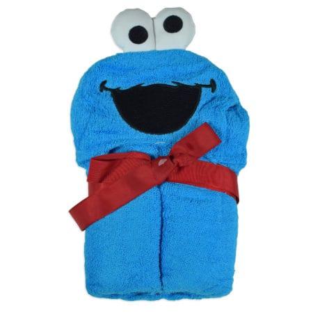 Baby Hooded Towel (Cartoon Character) - Blue-0