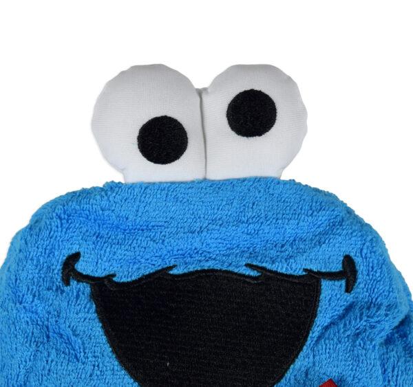 Baby Hooded Towel (Cartoon Character) - Blue-16968