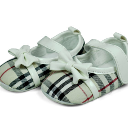 Baby Belly Style Soft Booties (Velcro) - Multicolor-0