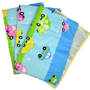 Changing Sheets Set Of 3 (Mini Cars Print) - Multicolor-0